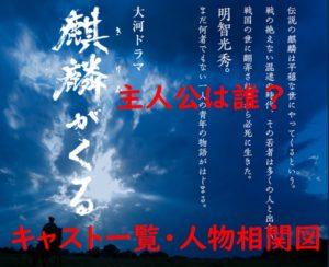 麒麟がくる 大河ドラマ 主人公 誰 キャスト 一覧 人物相関図 画像